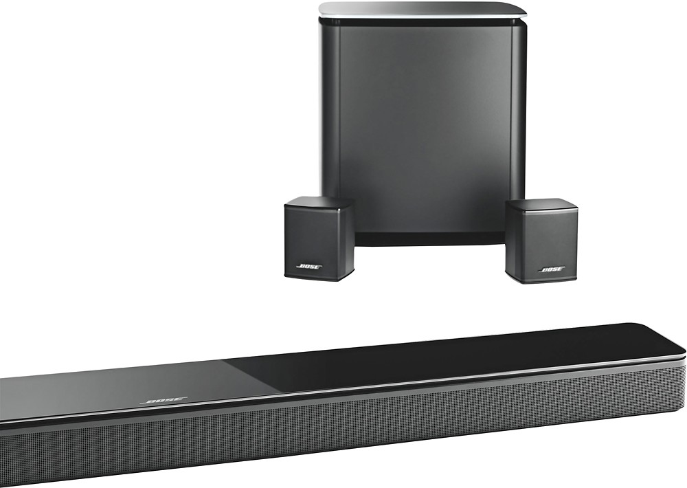 Bose Speakers and Soundbar