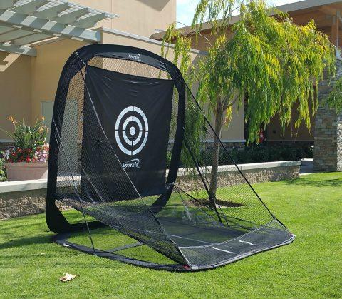 SPORNIA Pop-up Golf Practice Net Indoor/Outdoor from $184