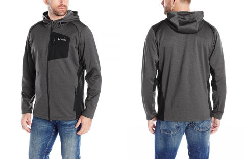 COLUMBIA Men's Jackson Creek Fleece Hoodie 49% OFF