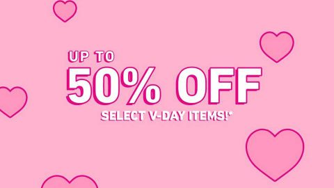 FOREVER21 50% OFF Valentines Day Sale