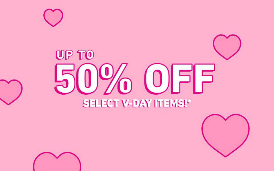 forever 21 valentines- day sale 50% Off